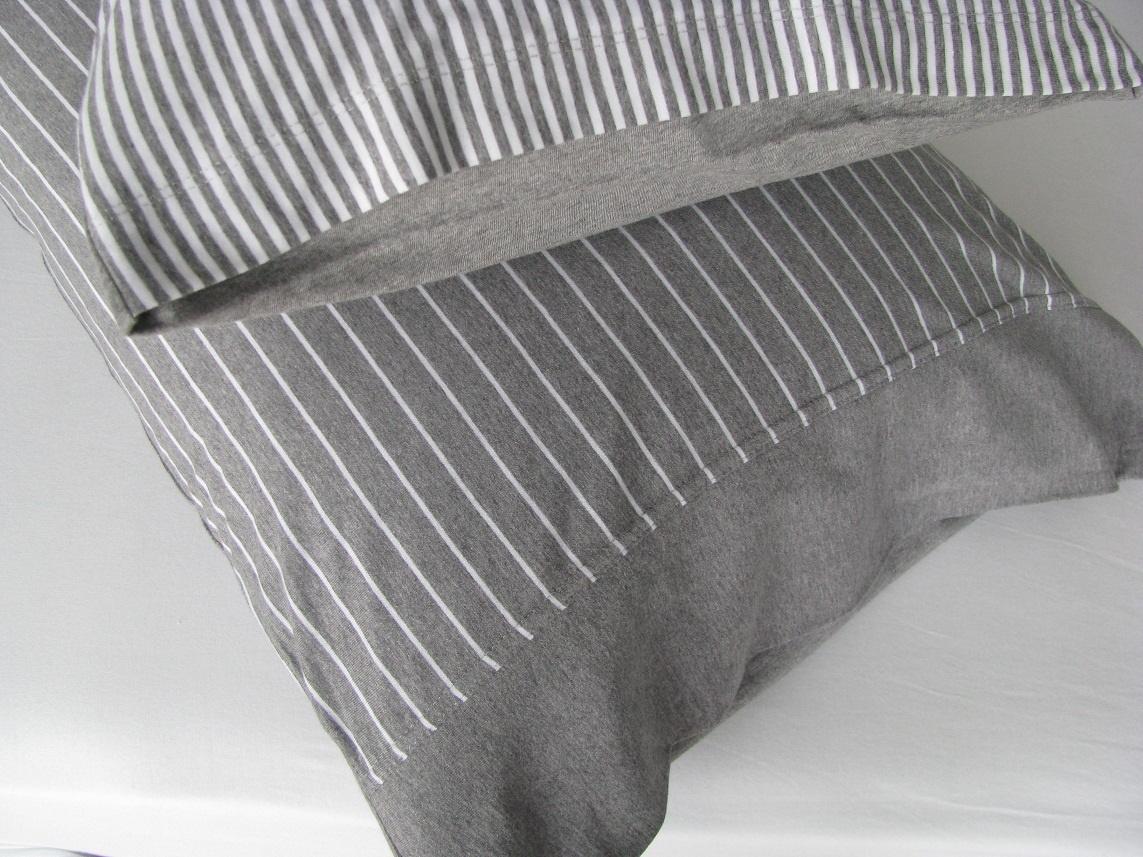 bettw sche grau gestreift bettwasche 2017. Black Bedroom Furniture Sets. Home Design Ideas