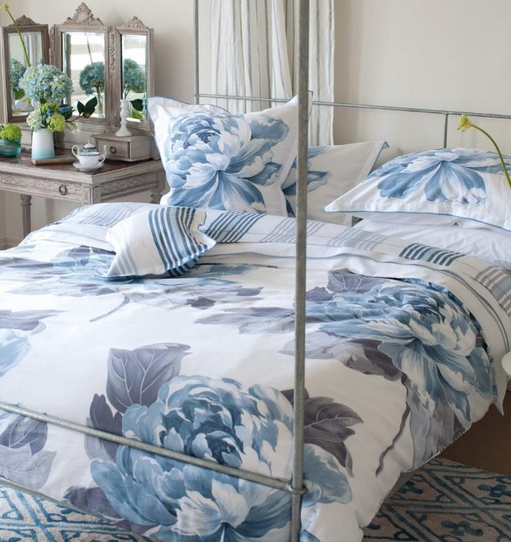 designers guild charlottenberg porcelain bettw sche. Black Bedroom Furniture Sets. Home Design Ideas