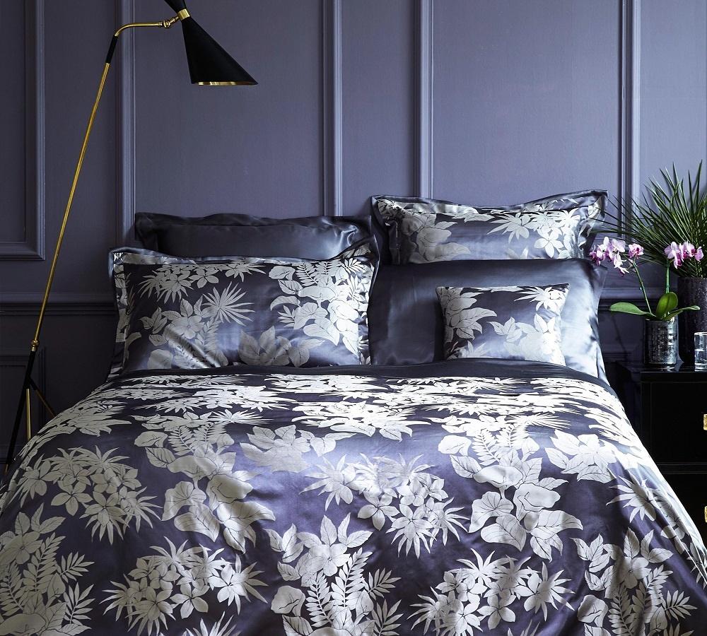 gingerlily tropical night seidenbettw sche. Black Bedroom Furniture Sets. Home Design Ideas