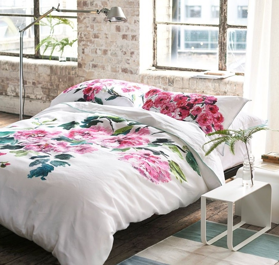designers guild shanghai garden peony wendebettw sche. Black Bedroom Furniture Sets. Home Design Ideas