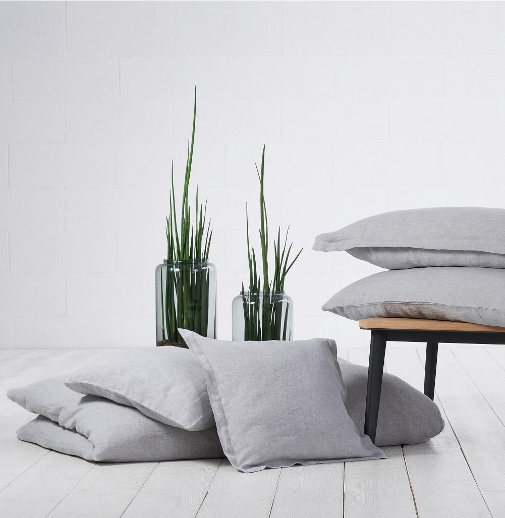 leinen bettw sche caroline. Black Bedroom Furniture Sets. Home Design Ideas