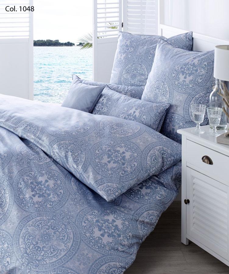 curt bauer brokat damast bettw sche odyssa ocean. Black Bedroom Furniture Sets. Home Design Ideas