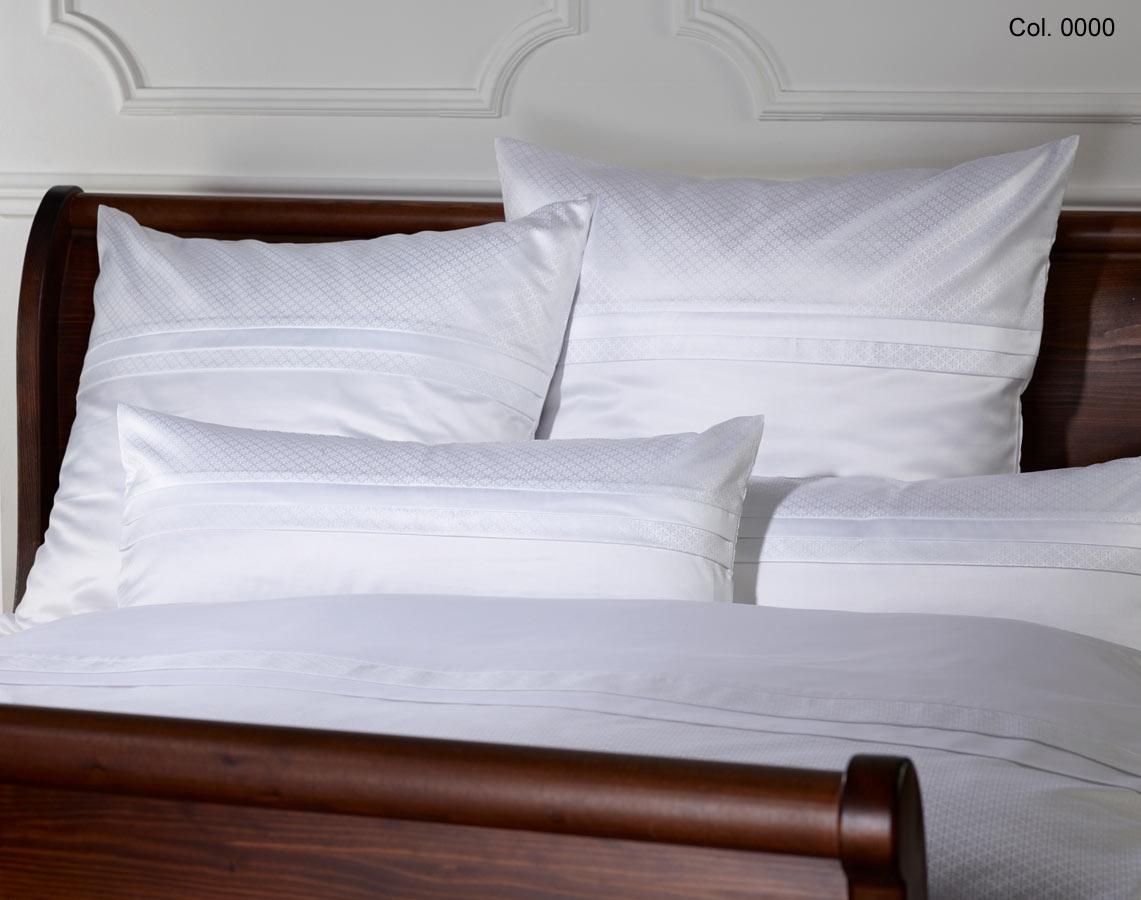 brokat damast bettw sche sanssouci weiss. Black Bedroom Furniture Sets. Home Design Ideas
