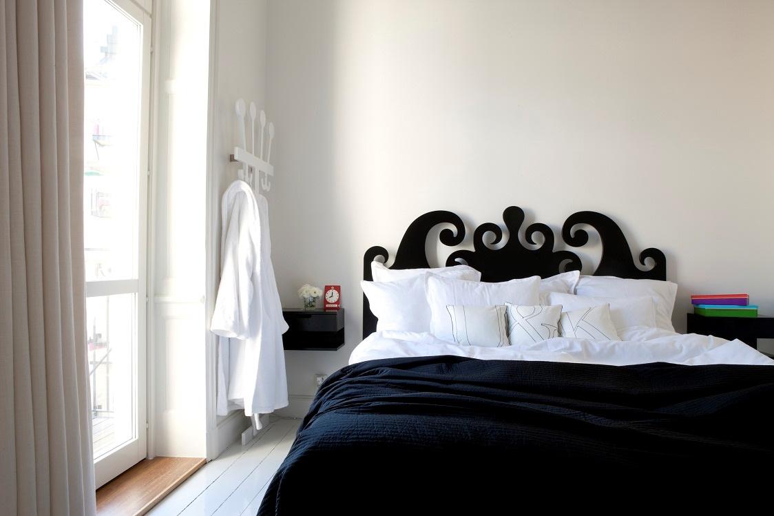 milano schwarz bett berwurf. Black Bedroom Furniture Sets. Home Design Ideas