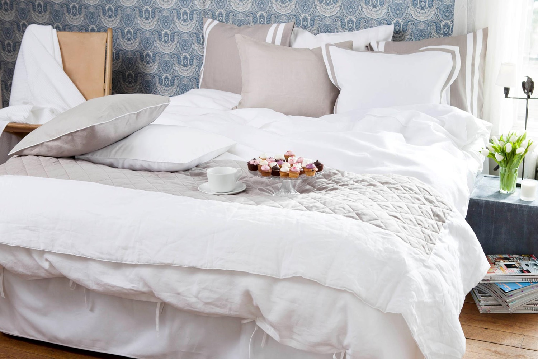 calma bett berwurf. Black Bedroom Furniture Sets. Home Design Ideas