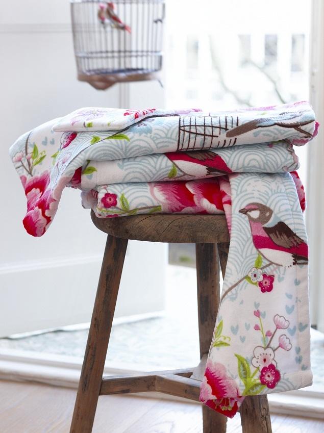 pip studio handtuch birds in paradise. Black Bedroom Furniture Sets. Home Design Ideas