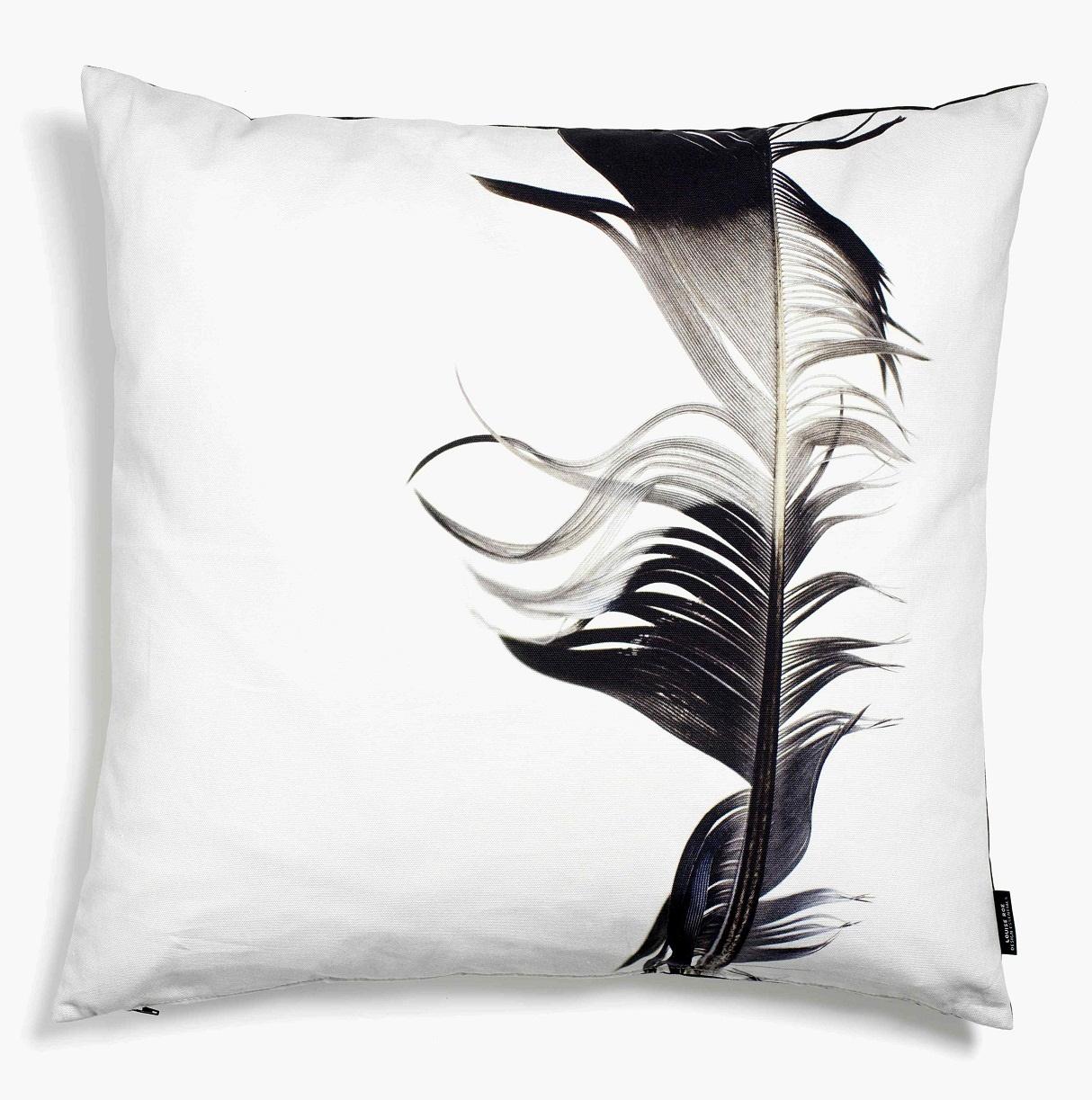 feather zierkissen. Black Bedroom Furniture Sets. Home Design Ideas