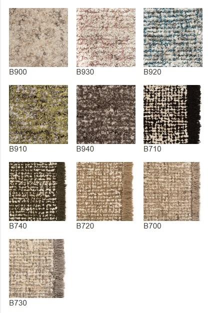 Casalis Teppich TWEED in verschiedenen Farbtönen