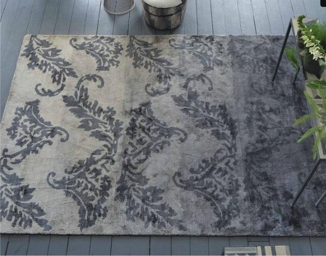 Designers guild aksu graphite teppich
