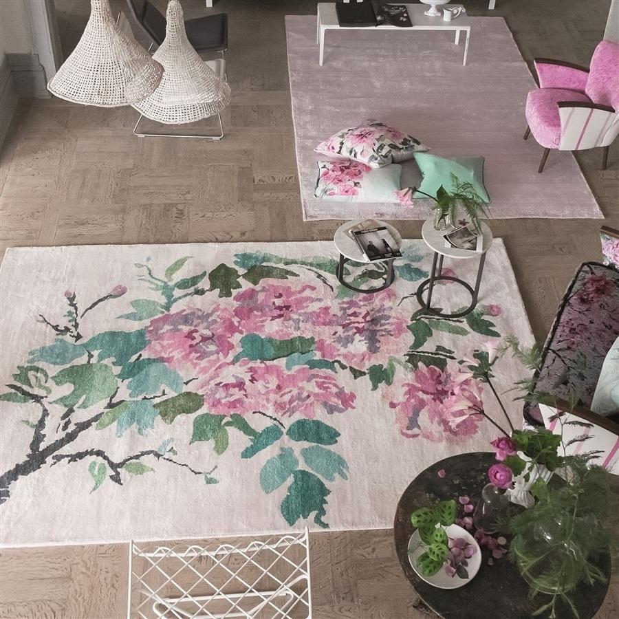 designers guild shanghai garden peony teppich. Black Bedroom Furniture Sets. Home Design Ideas