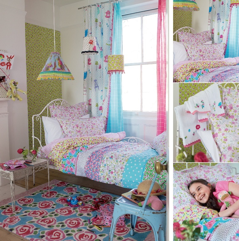 designers guild daisy daisy kinderbettw sche. Black Bedroom Furniture Sets. Home Design Ideas