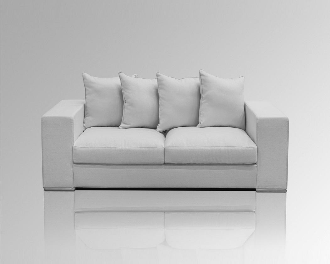 sofa 2 sitzer grau. Black Bedroom Furniture Sets. Home Design Ideas