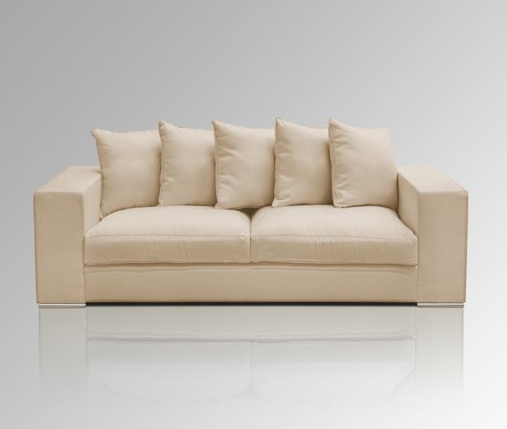 Sofa 3-Sitzer creme