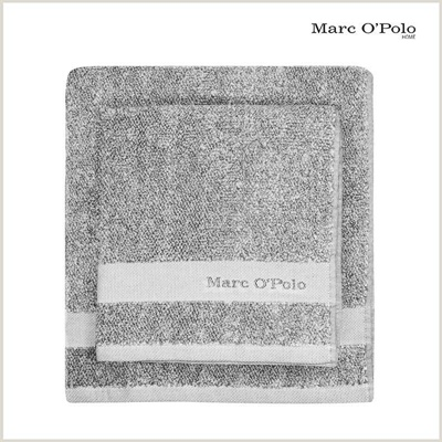 Marc O'Polo Timeless Mélange Handtuch Grey
