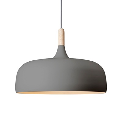 Northern Lighting Acorn Grau Pendelleuchte