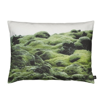 Moss on Lava Zierkissen