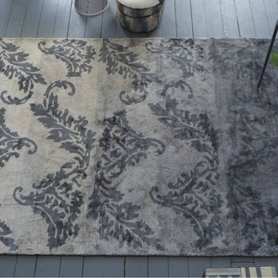 designers guild aksu graphite teppich. Black Bedroom Furniture Sets. Home Design Ideas