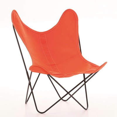 AA by Airborne Butterfly Chair, Baumwollhusse Orange