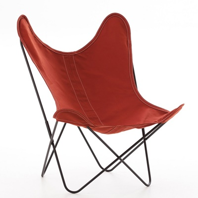 AA by Airborne Butterfly Chair, Baumwollhusse Terracotta