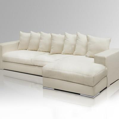 ecksofa creme rechtsseitig. Black Bedroom Furniture Sets. Home Design Ideas