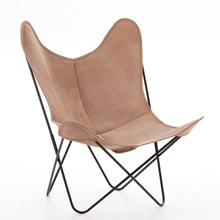 AA by Airborne Butterfly Chair, Spaltleder (Le Lodge)