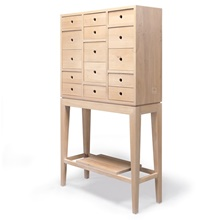 Wewood Massivholz-Sideboard CONTADOR Eiche